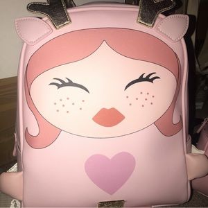 Betsey Johnson Character Backpack 💕